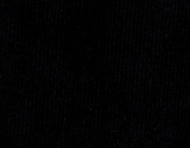 Terciopelo lycra negro