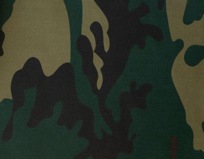 Sarga camuflaje verde