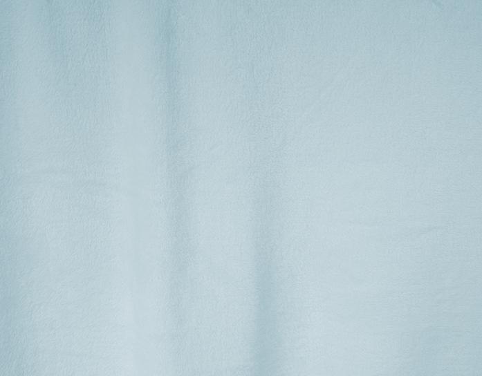 Puntos flannel liso celeste