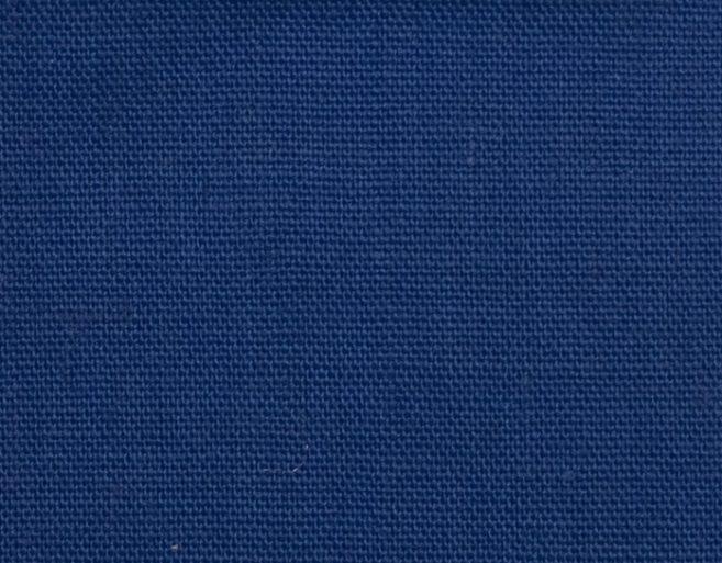 Popelín poliéster algodón azulón