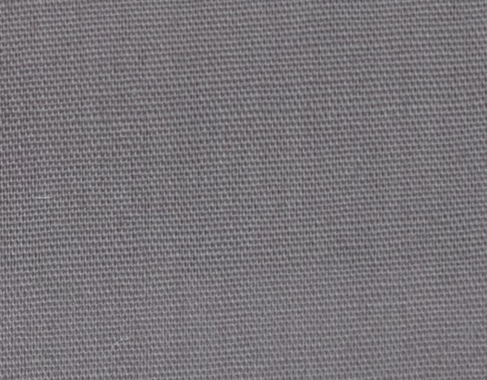 Popelín poliéster algodón gris