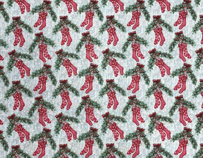 popelín algodón navidad dibujo 1